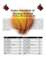 30s Shooting Workout