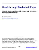 33 Breakthrough Basketball Plays