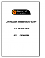 Australian Development Camp 2012