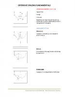 Bevo Intl 2 and 3 man game – Offensive Spacing