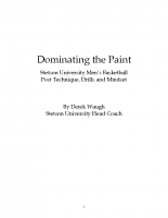 Dominate the Paint by Derek Waugh text only