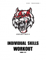 Fleetwood Girls Basketball Skills Workout