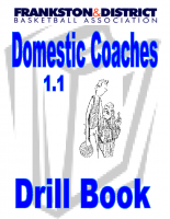 Frankston Basketball Drill Book