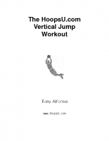 HoopsU – Vertical Jump Training Workout