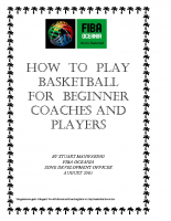 How To Coach Basketball – FIBA Oceania