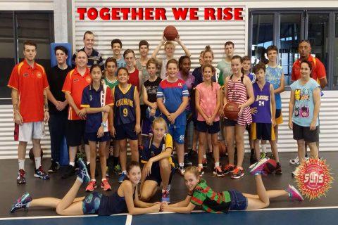 Coach Craig Rowe St Columbans Basketball Clinic