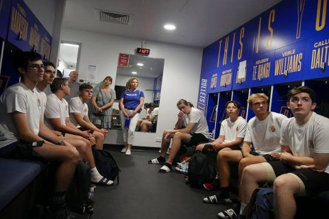 Brisbane Bullets Inner Sanctum Tour - OzSwoosh Academy