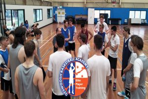 OzSwoosh Academy Training Basketball Huddle Term 3 2019.