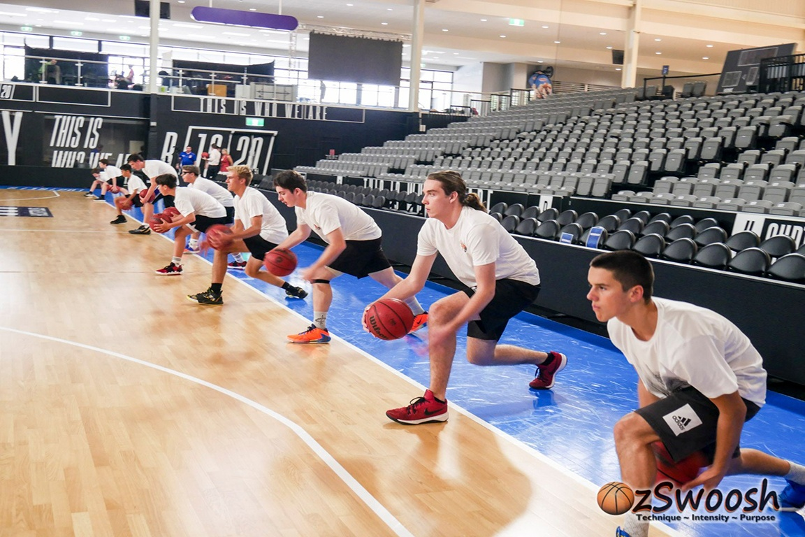OzSwoosh Academy at the Brisbane Bullets Inner Sacntum Tour
