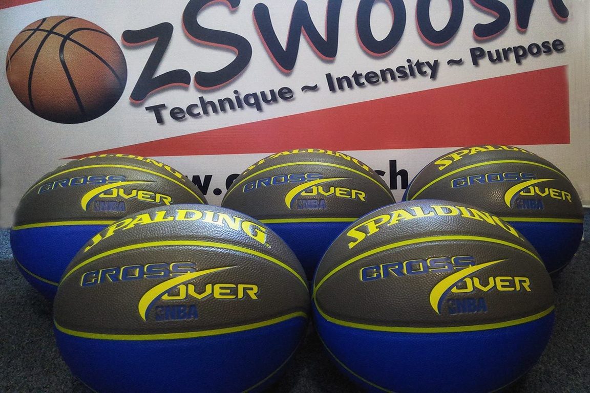 Spalding Crossover Basketballs Purchased with Financial donations.