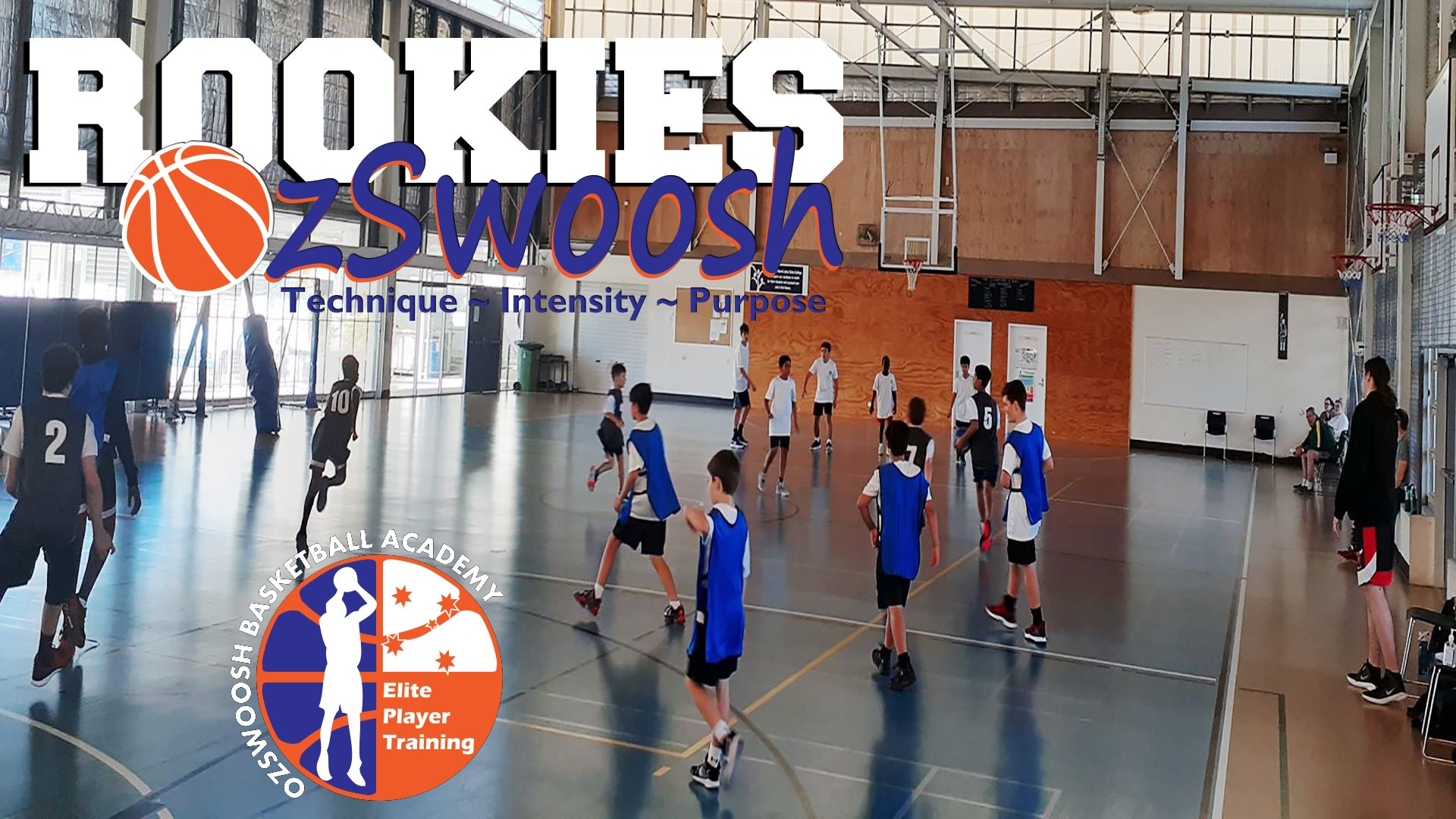 OzSwoosh Rookies Basketball Skill Development Program