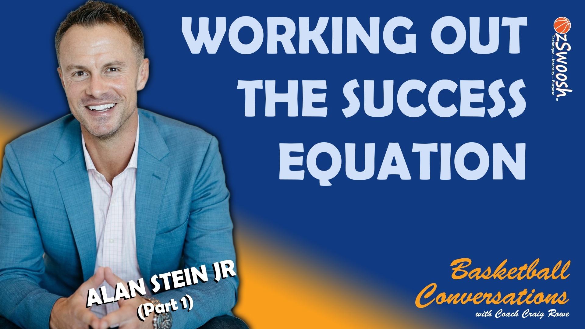 Alan Stein Jnr The Success Equation