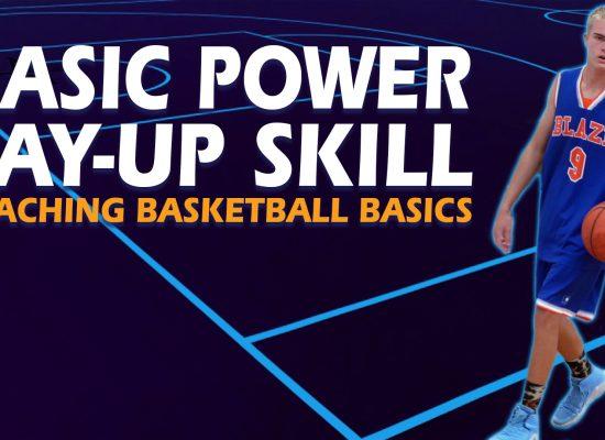 Power Layup Basketball Footwork