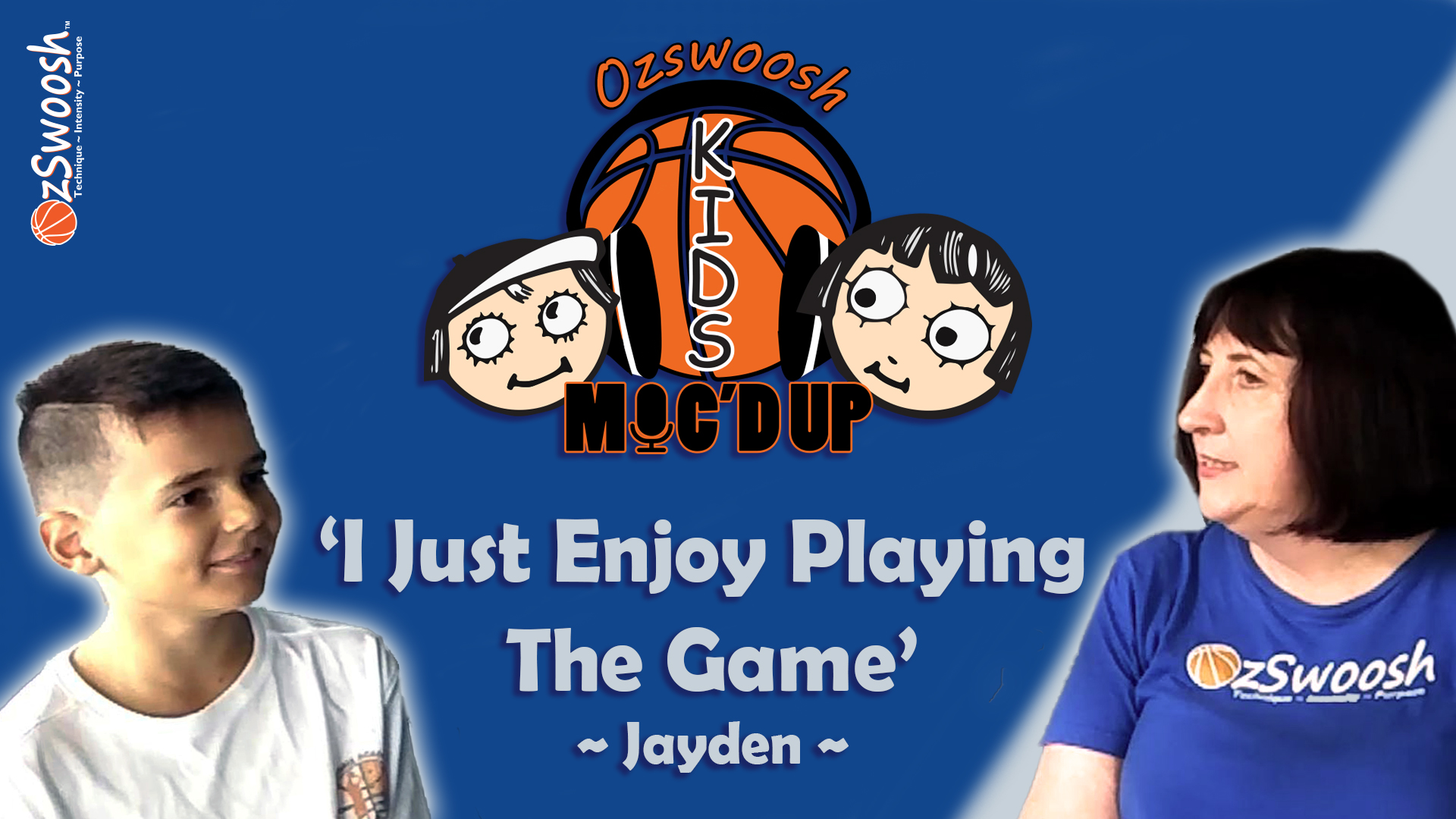 Jayden Just Loves playing the game