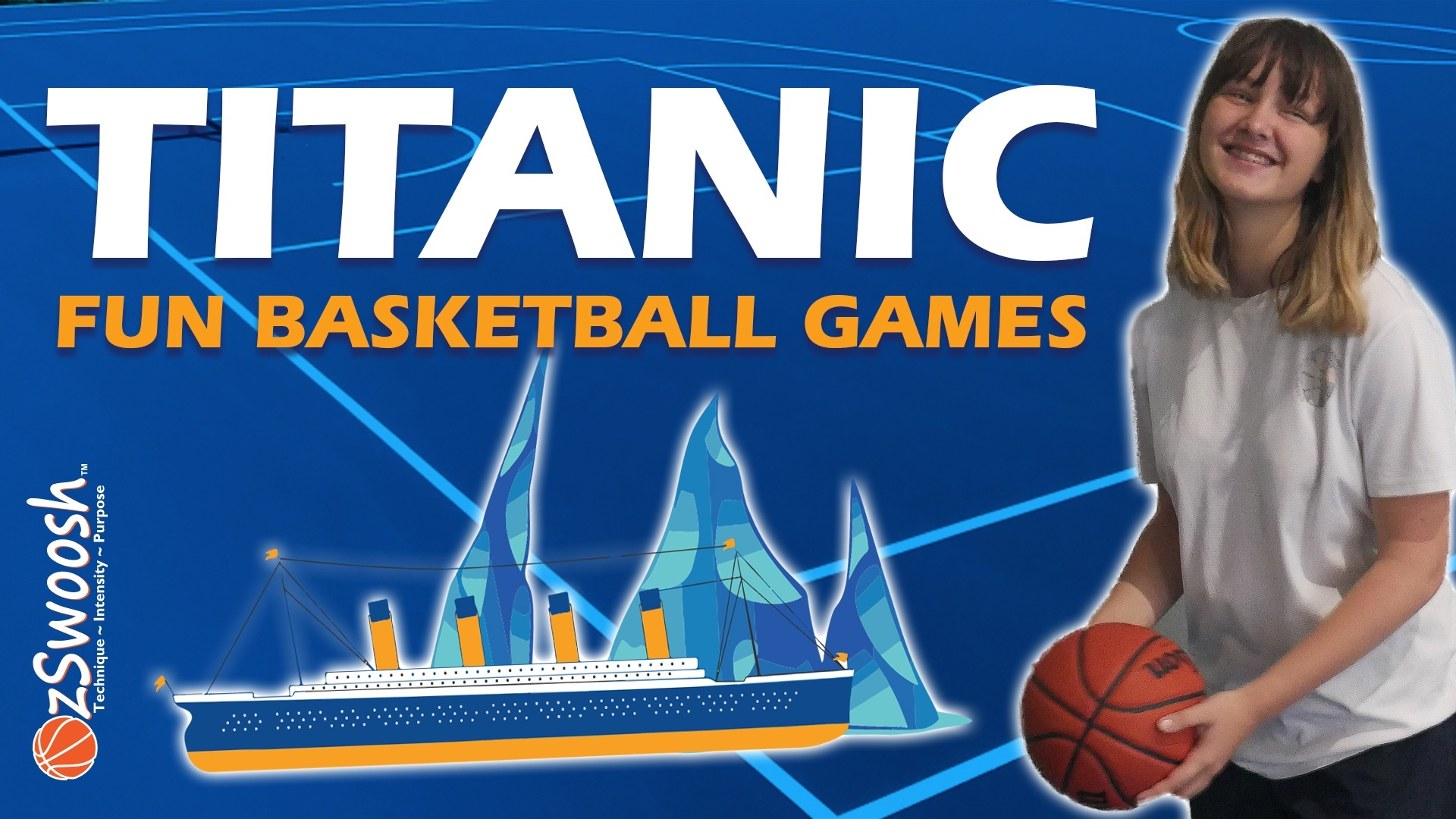 Titanic Basketball Shooting Game for kds