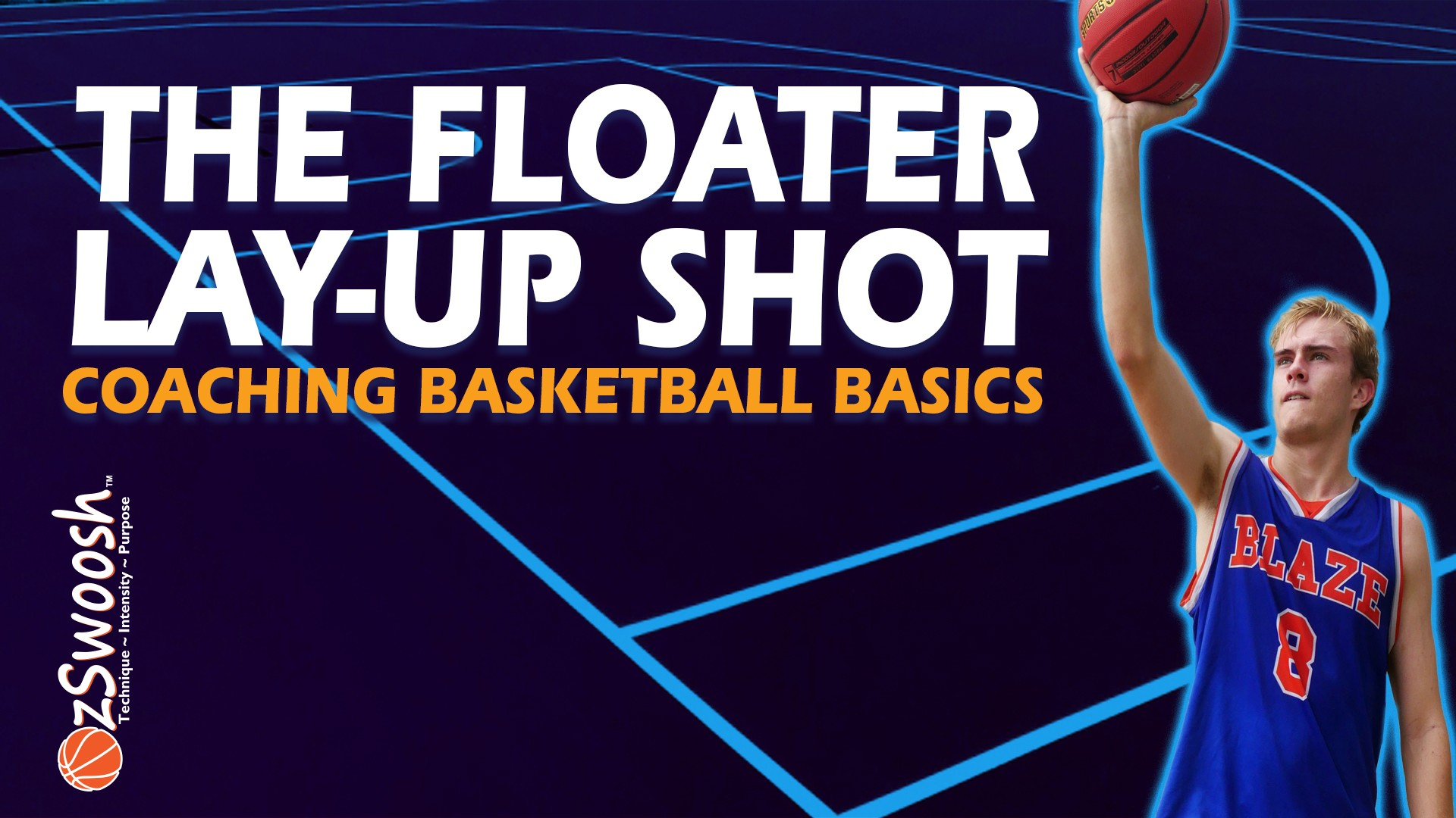 How To Do A Basketball Floater Layup Shot - Coaching Basketball Fundamentals