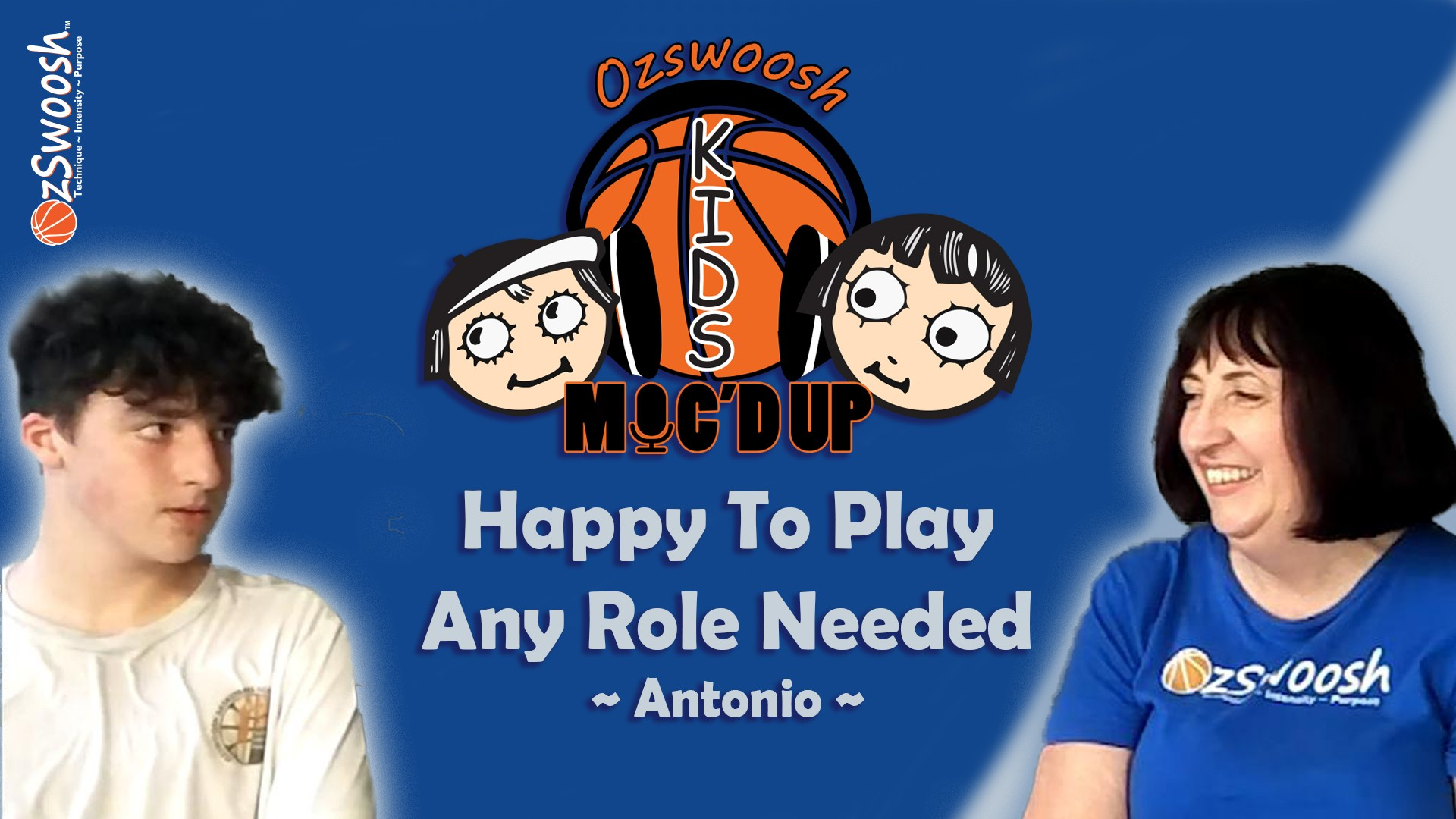 Basketball Team Role - OzSwoosh Academy Antonio