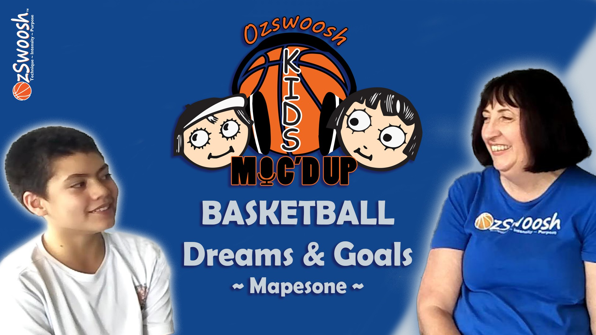 basketball dreams and goals - OzSwoosh Rookie Mapesone