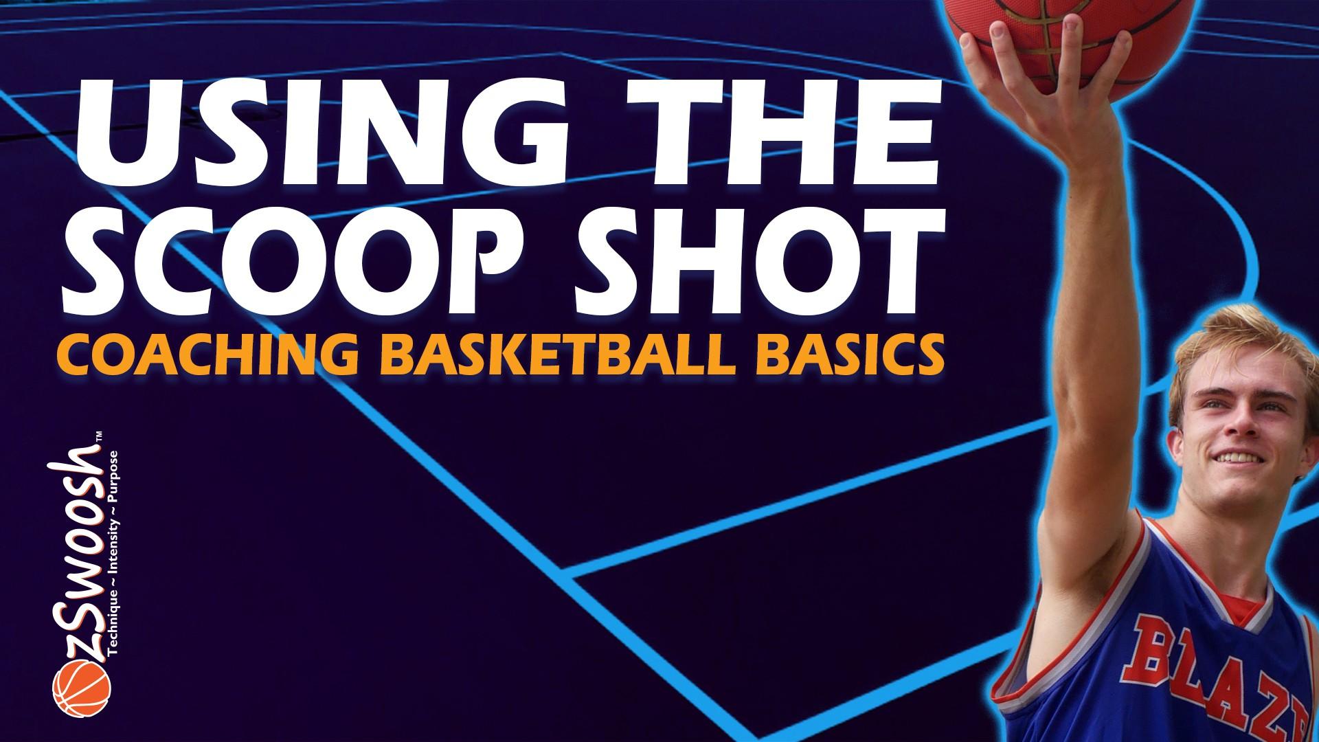 Basketball Finger Roll or Scoop Shot Technique