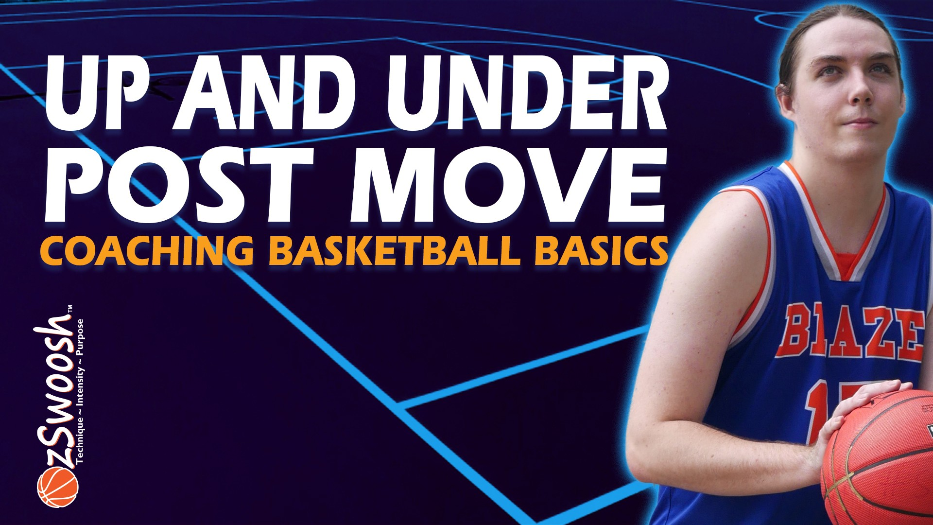 Up and Under Basketball Post Move - Coaching Basketball Fundamentals