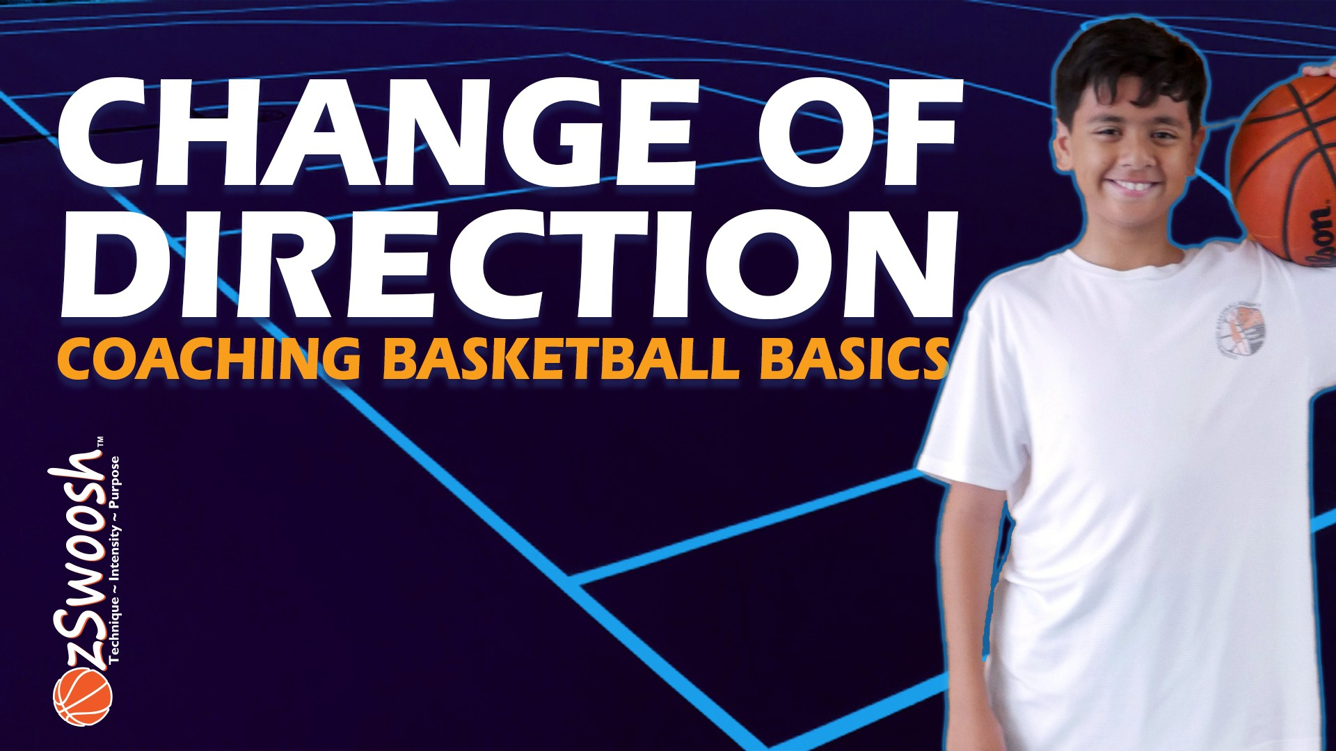 Change of direction running in basketball - Coaching Basketball Fundamentals
