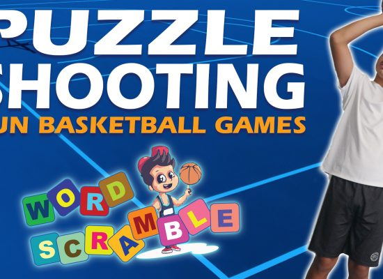 Fun Basketball Shooting Game For Kids - Word Scramble
