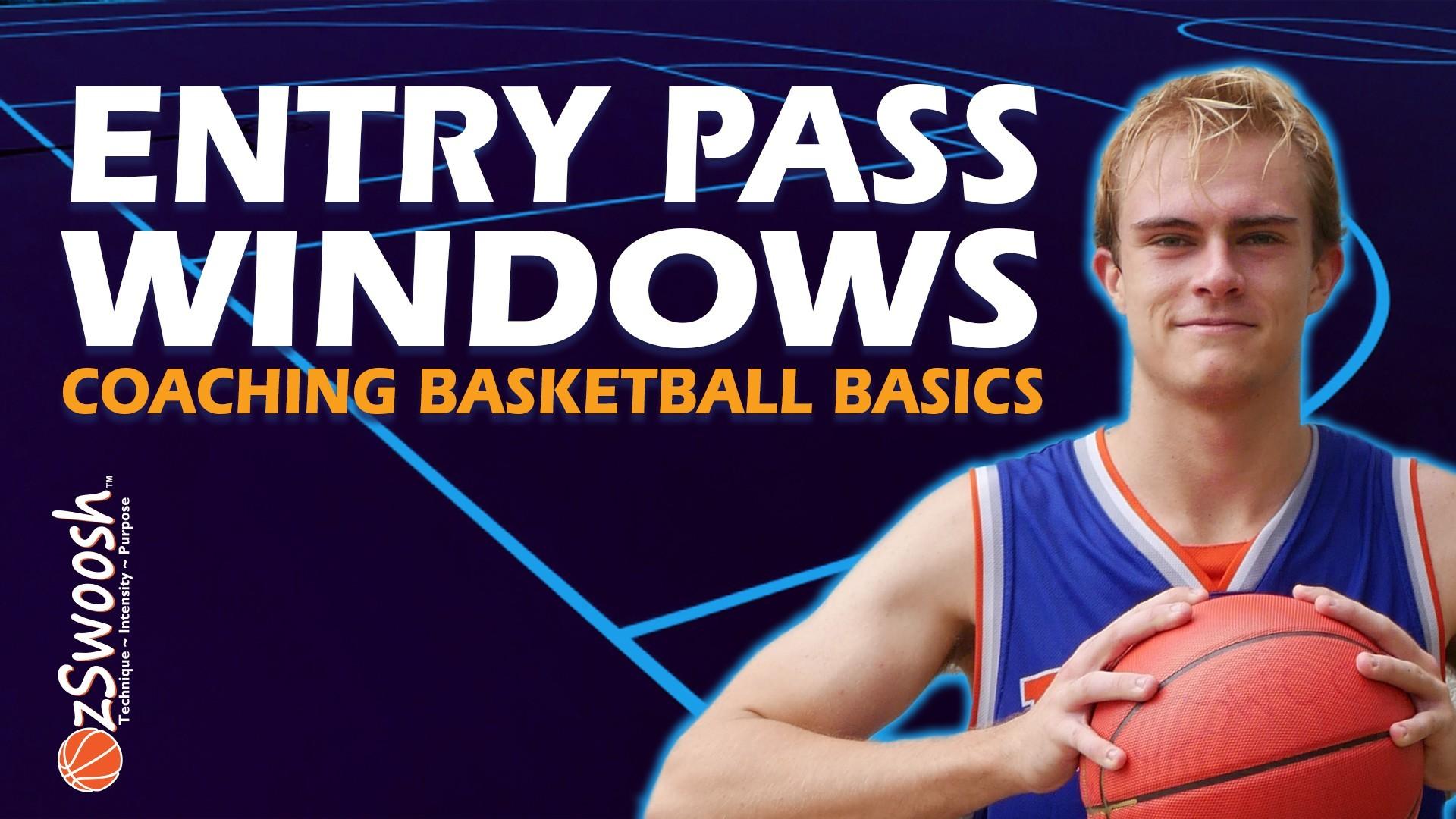 Basketball Passing Windows - Coaching Basketball Fundamentals