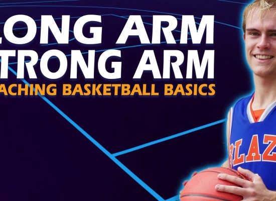 Posting Up in Basketball - Strong Arm Long Arm - Coaching Basketball Fundamentals