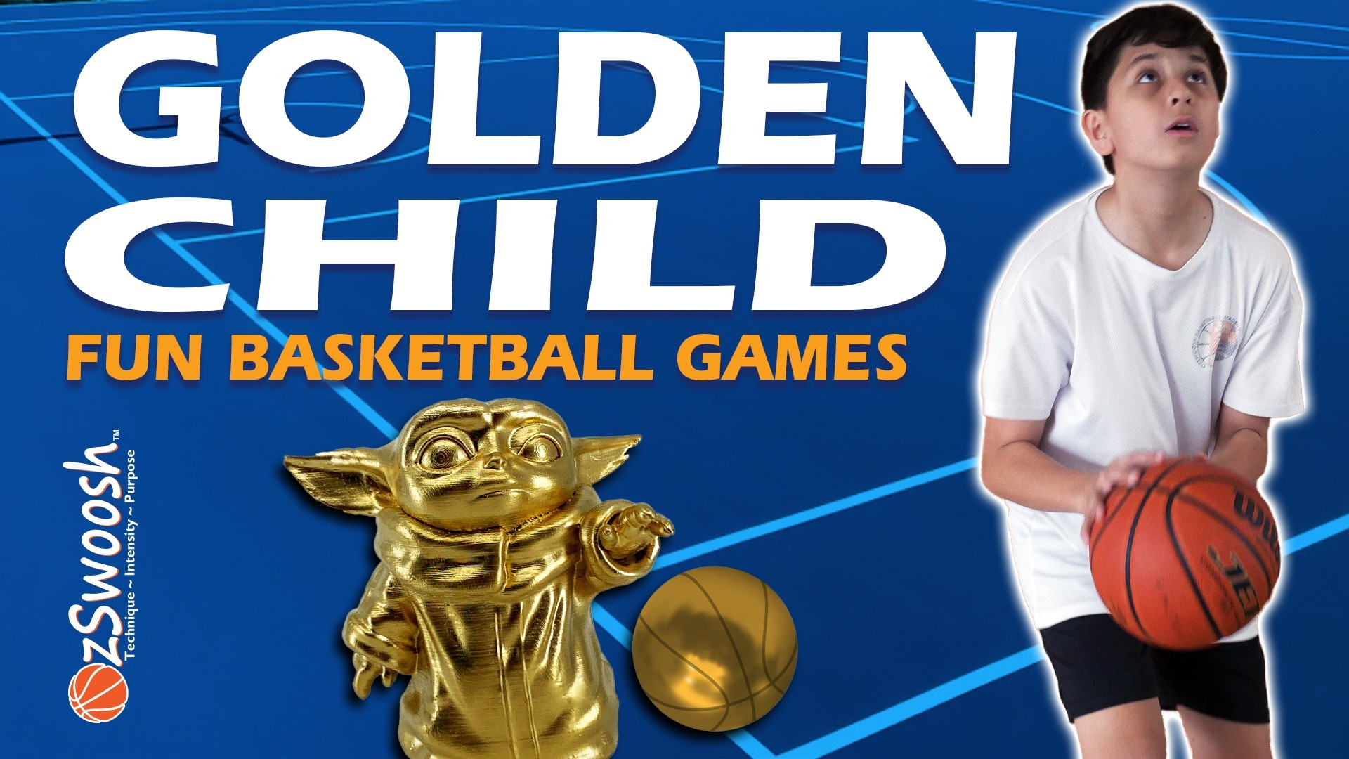 Fun Youth Basketball Drills For Kids - Golden Child (Competitive Game)